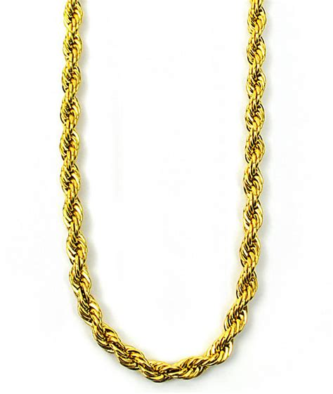 bracelet chains for jewelry the gold gods rope chain necklace zumiez