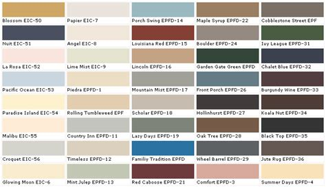 behr paint colors house home depot paint colors chart home painting ideas