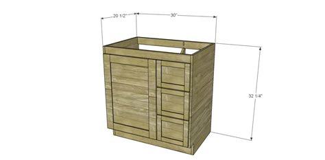 bathroom vanity woodworking plans free diy woodworking plans to build a custom bath vanity