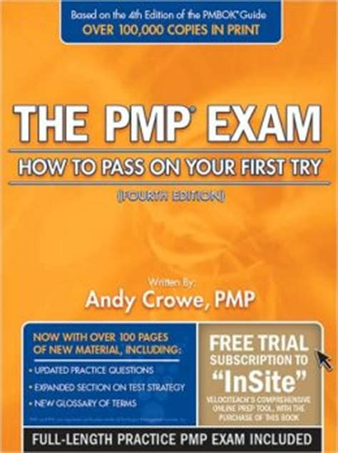 the pmp how to pass on your try fifth edition the pmp how to pass on your try edition 4 by