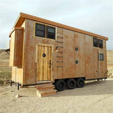 fyi tiny house nation the edge and industrial aesthetic of steunk makes