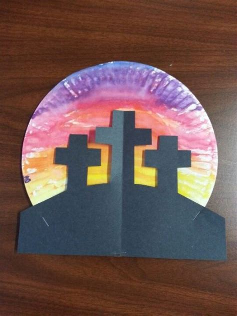 bible crafts for to make cross craft sunday school ideas for easter