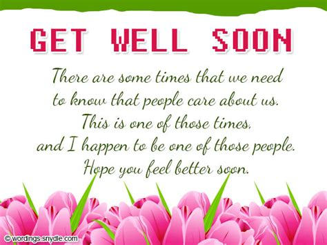 get well card get well soon wishes and card wordings wordings and messages