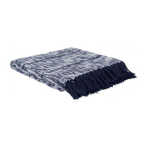 Plaids Pour Canapé 929 by Loan Plaid Textur 233 130x150cm En Coton Bleu Habitat