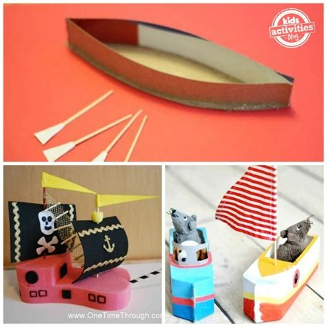 paper canoe craft 1000 ideas about boat craft on boat