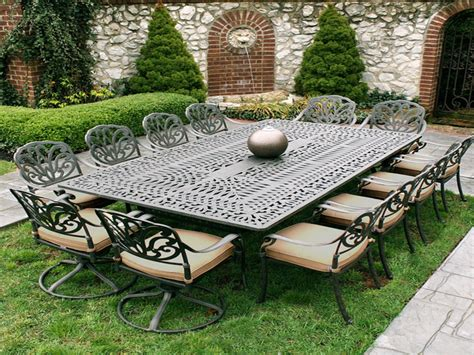 closeout patio furniture sets white metal garden table and chairs iron patio furniture