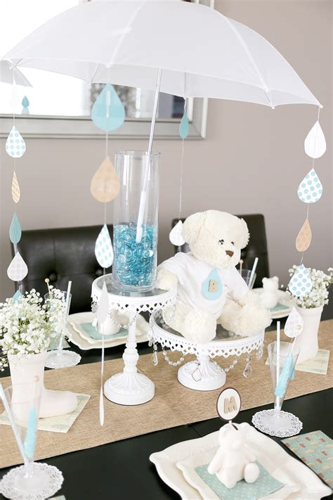 baby shower umbrella centerpieces a sweet umbrella themed baby shower