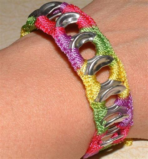pop tab crafts for 25 unique soda tab bracelet ideas on pop tab