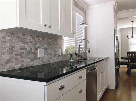 white kitchen cabinets black granite countertops spectacular granite colors for countertops photos