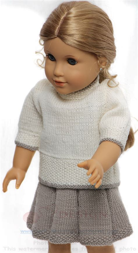 knitting patterns for american dolls american knitting patterns