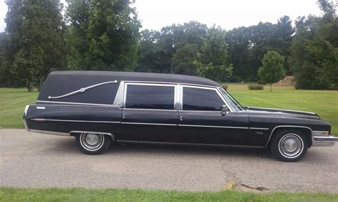 Parts For Cadillac by New Parts 1973 Cadillac Miller Meteor Hearse For Sale