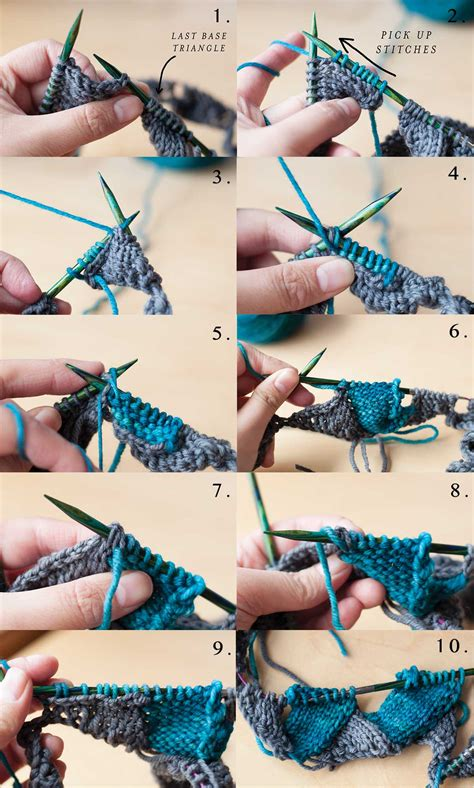 how to knit a scarf step by step how to knit entrelac in the
