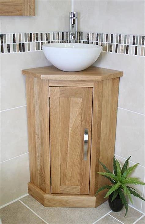 solid oak bathroom furniture solid oak bathroom cabinet cloakroom corner vanity sink