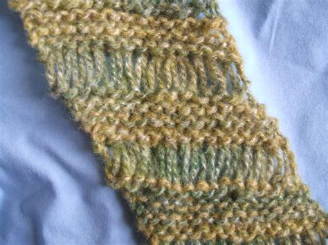 free drop stitch knitting patterns drop stitch scarf pattern a knitting