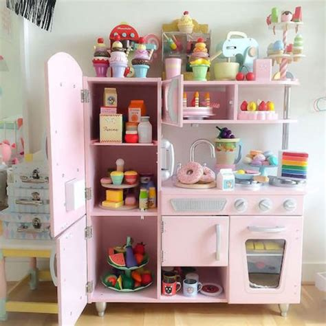 kid craft kitchen pink vintage kitchen kidkraft toys buy at