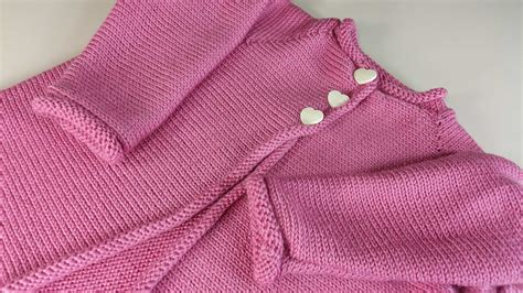 baby cardigan knitted in one baby knitting sweater bronze cardigan