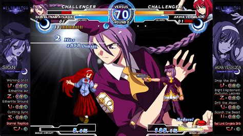 melty blood arc system works universe melty blood again