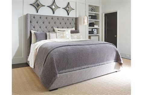 bed upholstered headboard sorinella upholstered bed furniture homestore