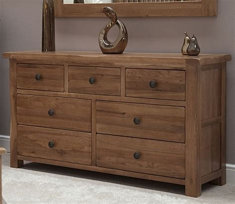 solid oak bedroom furniture uk tilson solid rustic oak bedroom furniture large wide chest