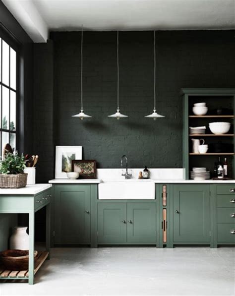 green kitchen furniture best 25 green kitchen ideas on green kitchen