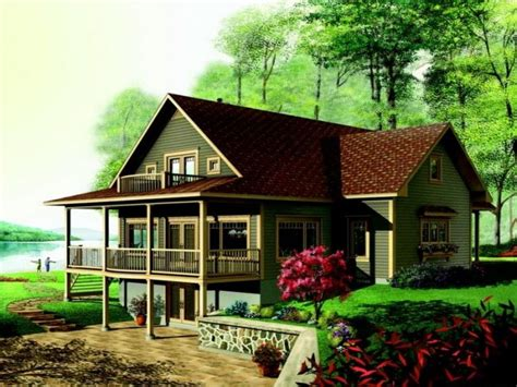 lakefront house plans with walkout basement lake house plans walkout basement lake house plans lake