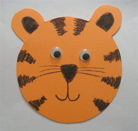 tiger crafts for paper tiger family crafts