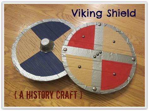 viking crafts for relentlessly deceptively educational viking shield