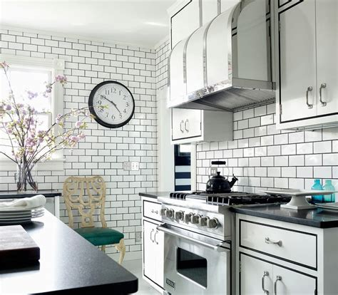 ceramic subway tiles for kitchen backsplash white subway tile kitchen backsplash