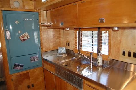Kitchen Cabinets For Mobile Homes vintage trailer interiors from the 1940 s from oldtrailer com