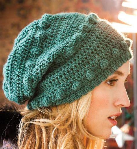 knitting pattern bobble hat crocheted bobble hat vkcro12 38 by vogue knitting craftsy