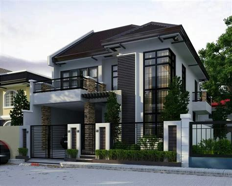 exterior house paint colors in the philippines two storey modern house brighter color perhaps dom