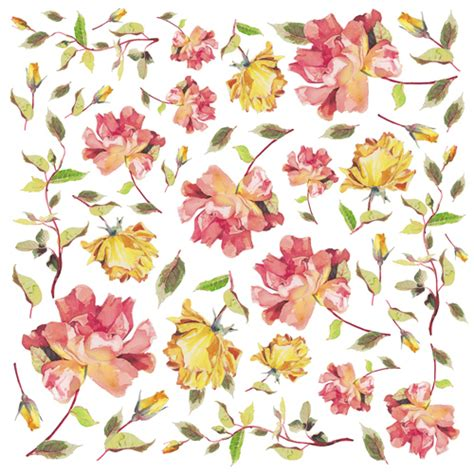 flower decoupage flower paper for decoupage sonja servietten shop