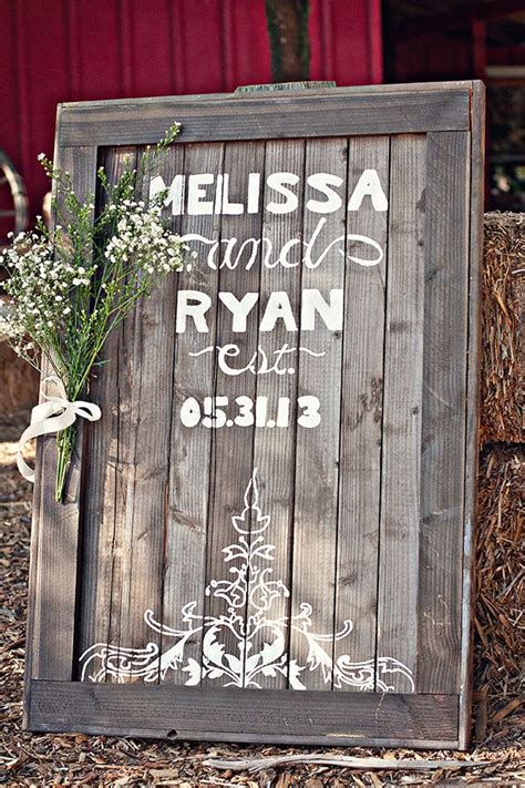 diy chalkboard signs for weddings 10 most diy wedding signs from weddingmix
