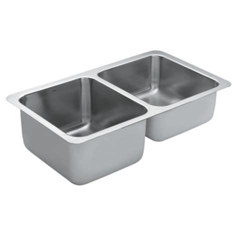 moen undermount kitchen sinks lancelot series bowl undermount stainless steel