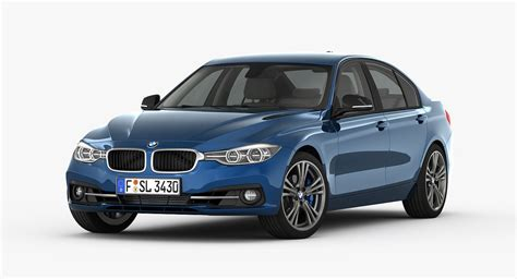 Bmw Models by Bmw 3 Series Sport Line 2016 3d Model Max Cgtrader