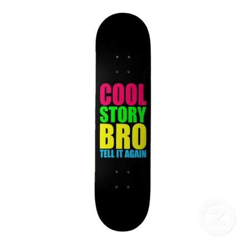 cool boards neon cool story bro skate board deck skateboard decks to