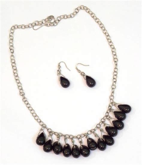 black bead jewellery sets buy black beaded jewellery necklace sets
