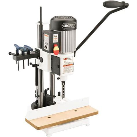 shop fox woodworking machinery drill presses shop fox 3 4 hp heavy duty mortising
