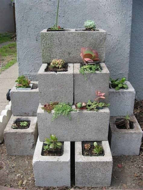 cinder block garden wall cinder block garden wall home style