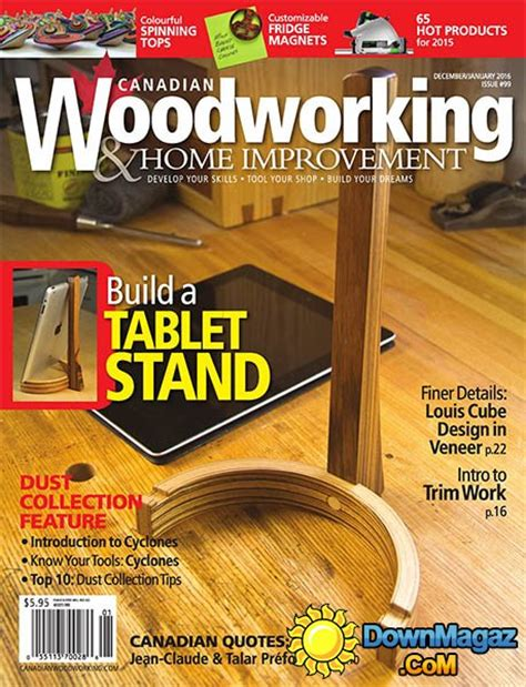 canadian woodworking magazine canadian woodworking magazine pdf woodworking projects