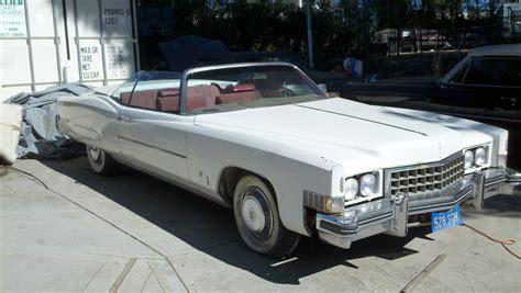 73 Cadillac Eldorado Convertible white 73 cadillac eldorado convertible ken s stuff for sale