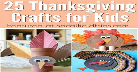 easy turkey crafts for 25 easy thanksgiving crafts for socal field trips