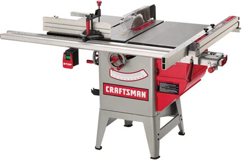 hybrid table saw reviews woodworking tool test craftsman s new hybrid table saws popular
