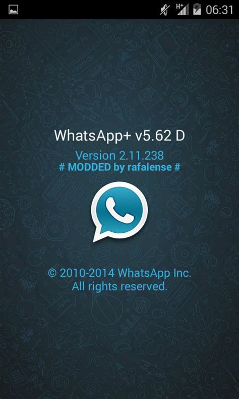 Modified Whatsapp Apk by Whatsapp Plus 5 62 Apk Apps Android
