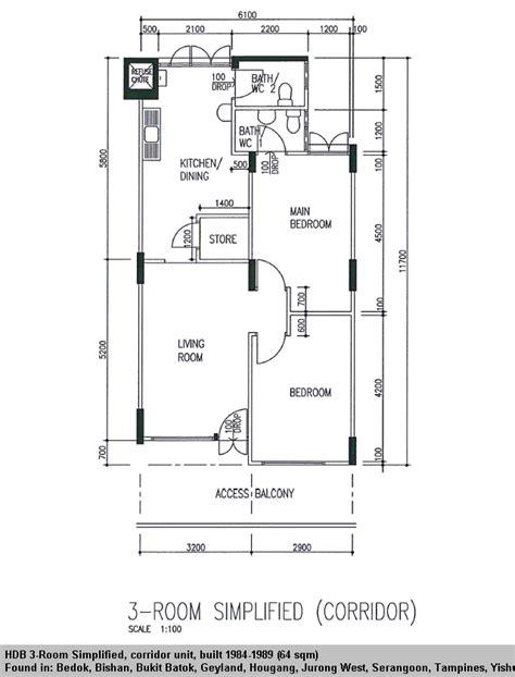 3 Room Flat Floor Plan hdb flat types 3std 3ng 4s 4a 5i ea em mg etc