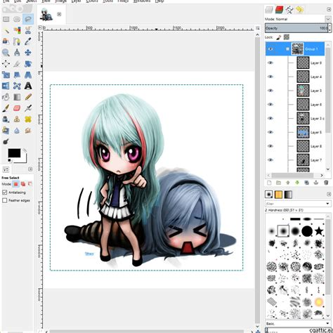 well recommended free drawing software to get you started