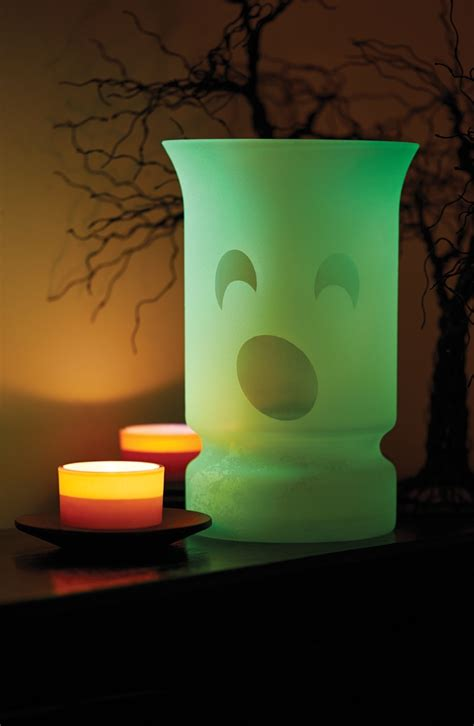 glow in the paint for vases glowz ghostly vase project spray paint projects
