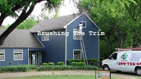 spray painting exterior of house exterior house painting dallas ft worth spray