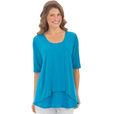 plus size knit tops womens tier sleeve knit top plus size by