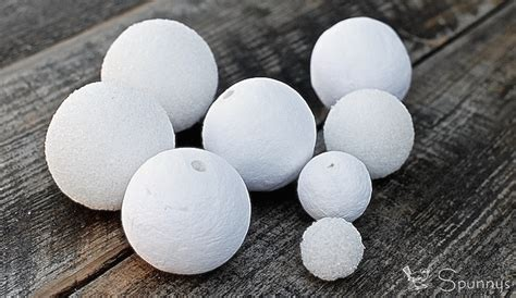 crafts with styrofoam balls for craft foam balls vs spun cotton balls which ones to use
